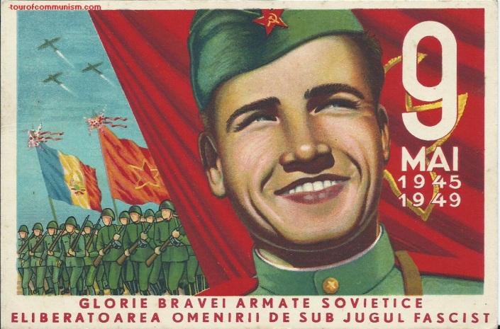 Pro-Soviet propaganda in Communist Romania