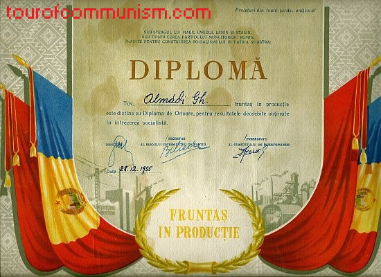 Honorary diploma