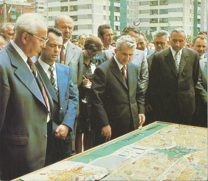 Ceausescu in Drumul Taberei